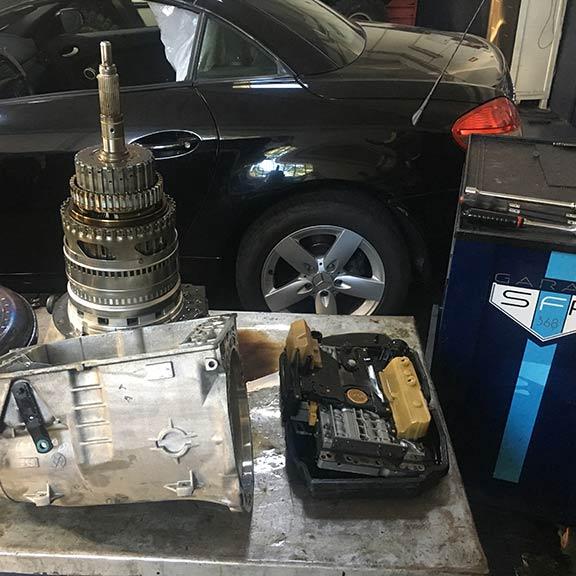 Serviços Caixas Automáticas | SFR Garage